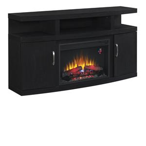 "Morris Home Furnishings Canter Canter 60"" Console with Fireplace"