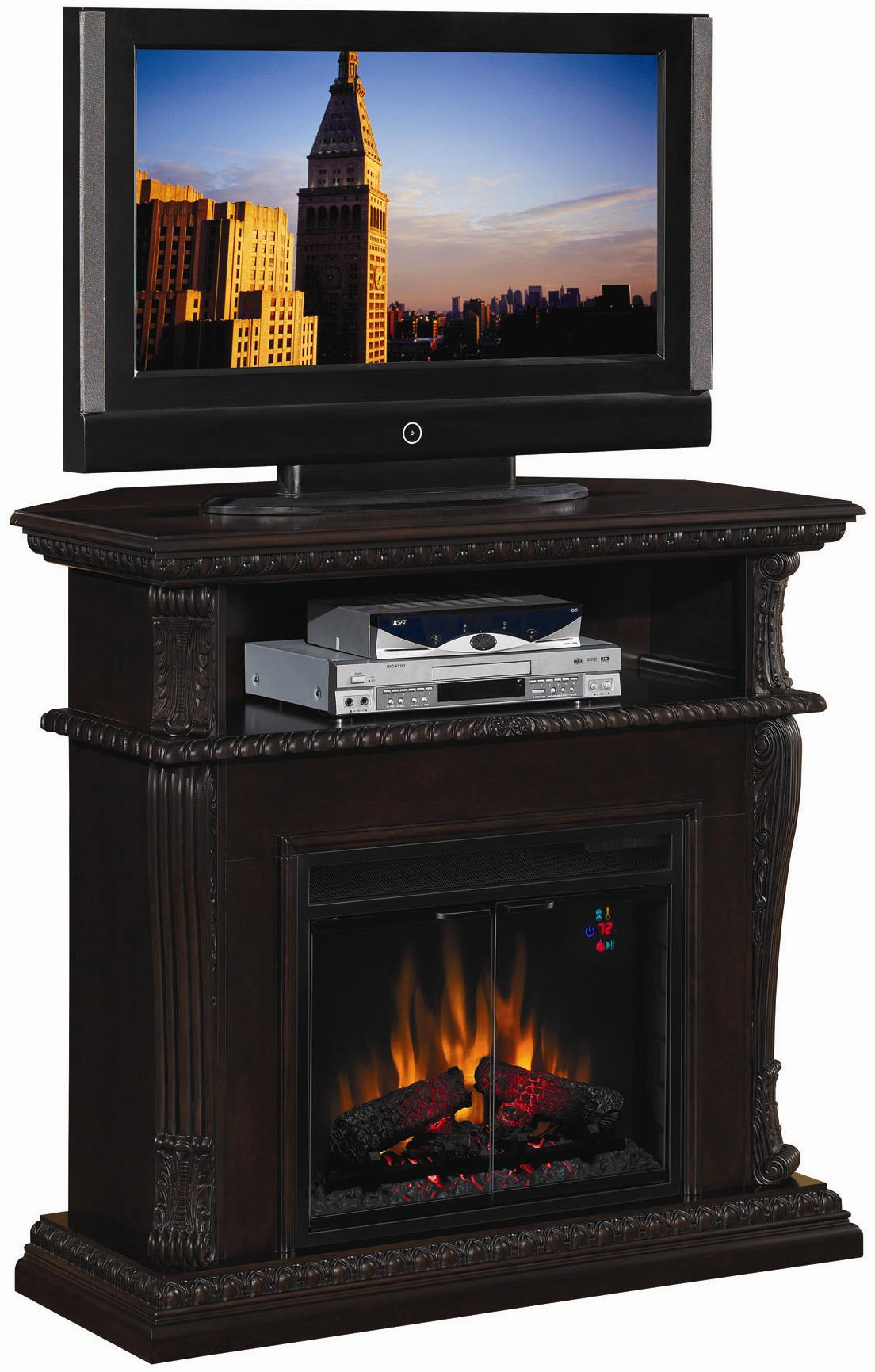 ClassicFlame Corinth  Corinth Electric Fireplace - Item Number: 23DE1447-W502