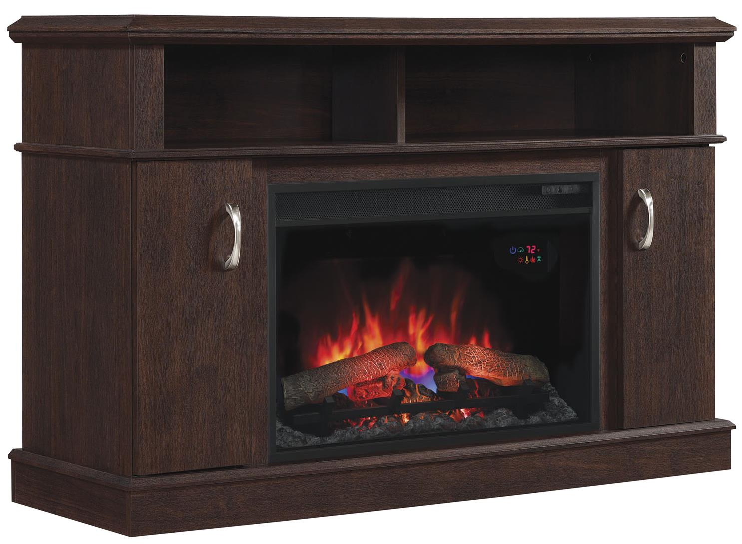 "ClassicFlame Dwell 26"" Media Fireplace Mantel - Item Number: 26MM5516-PC72"