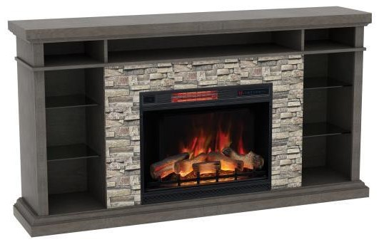 Elli Elli Fire place with Sound Bar by ClassicFlame at Morris Home