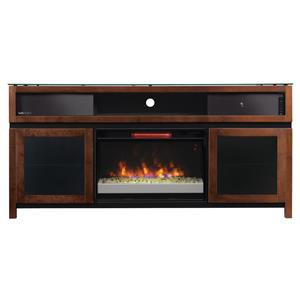 Morris Home Furnishings Gasquet Gasquet Console with Fireplace Insert