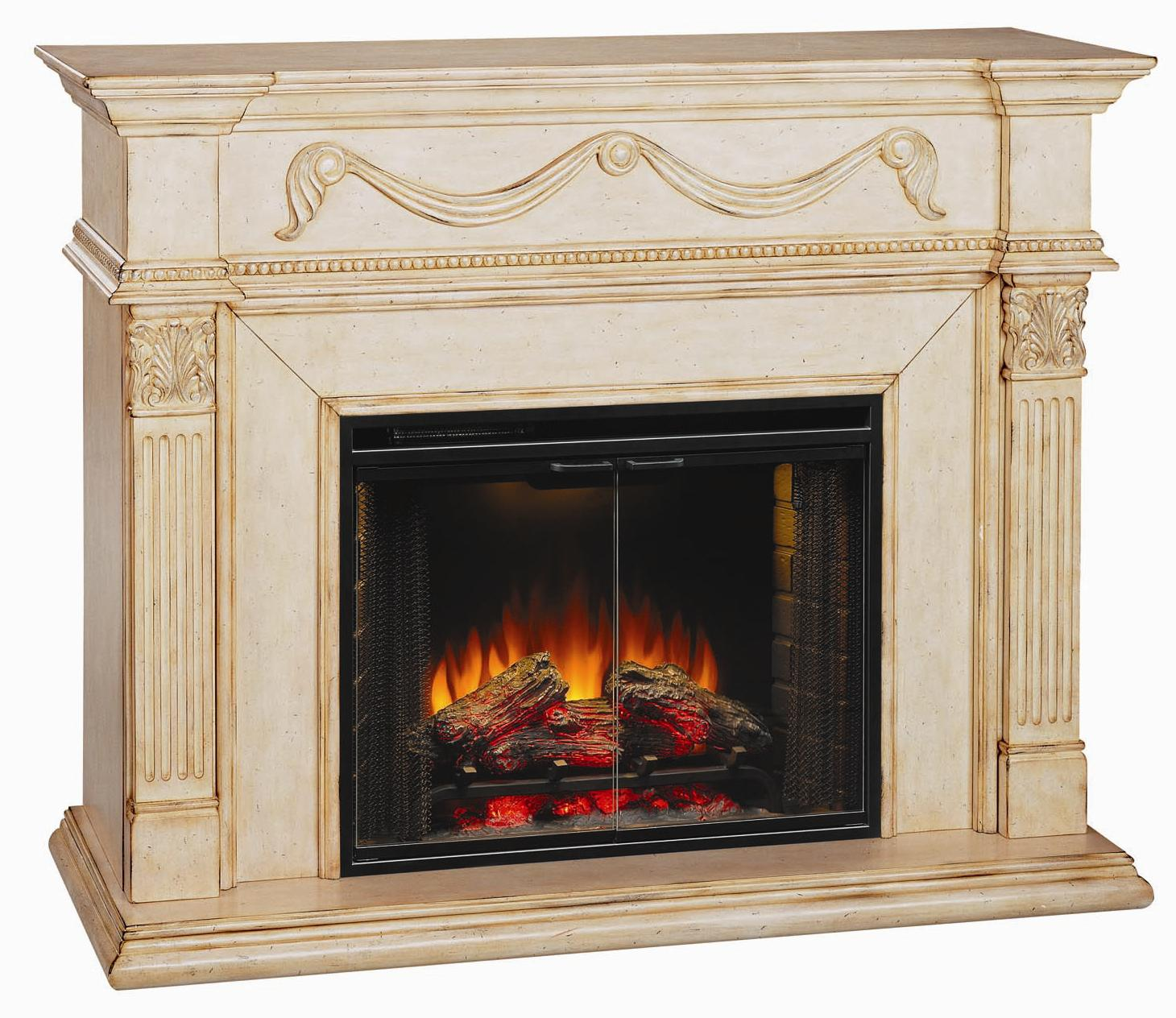 ClassicFlame Gossamer Fireplace - Item Number: 28WM184VAW-0408