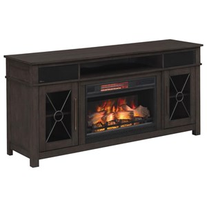 ClassicFlame Heathrow Media Mantel Fireplace