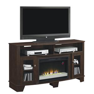 "Morris Home Furnishings LaSalle 59"" Media Mantel"