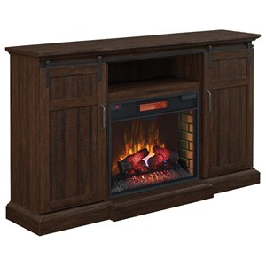 ClassicFlame Manning Barn Door Media Mantel