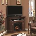 ClassicFlame Windsor Dual Entertain Media Fireplace Mantel - 23DE9047-PC81