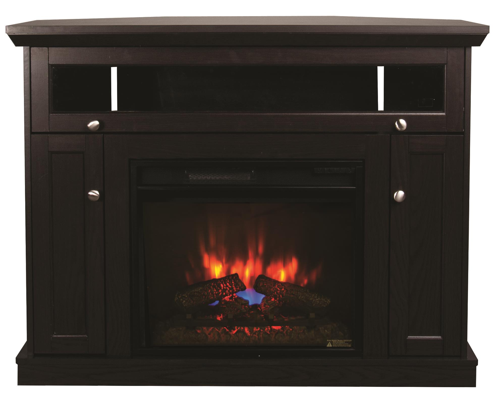 Morris Home Furnishings Windsor Dacula 2 Piece Fireplace with Insert - Item Number: 23DE9047-PE91/23EF031GRP