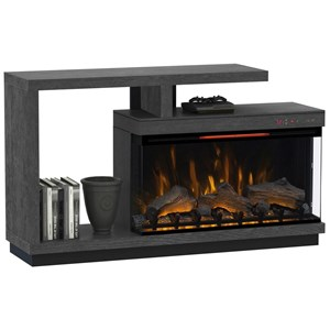 Lloyd TV Stand with Electric Fireplace