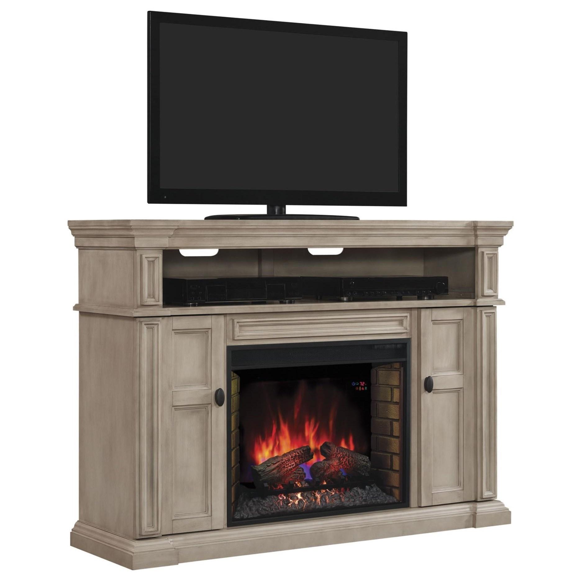 Wyatt Fireplace Tv Console Mantel Amp Fireplace Insert With
