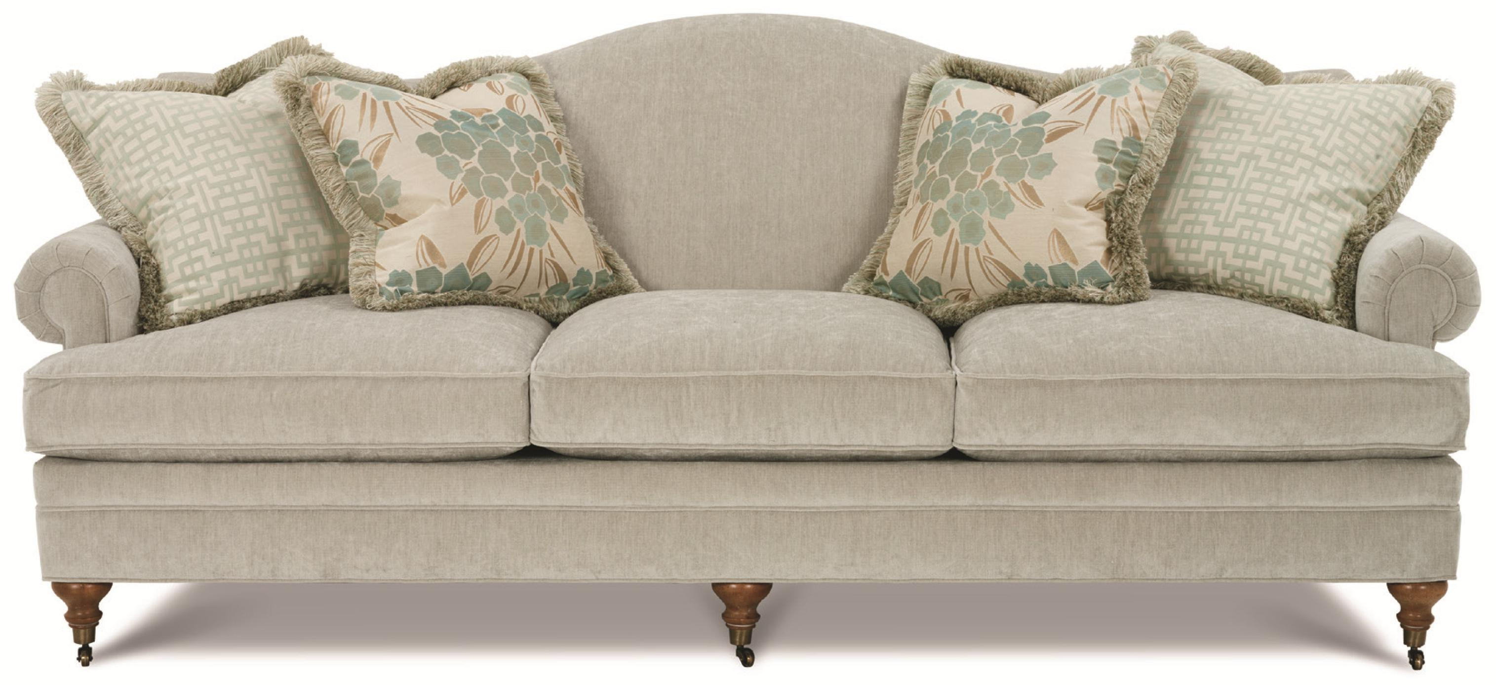 Amazing Kensington Collection   Brompton Traditional Camel Back Sofa With Castered  Feet By Clayton Marcus