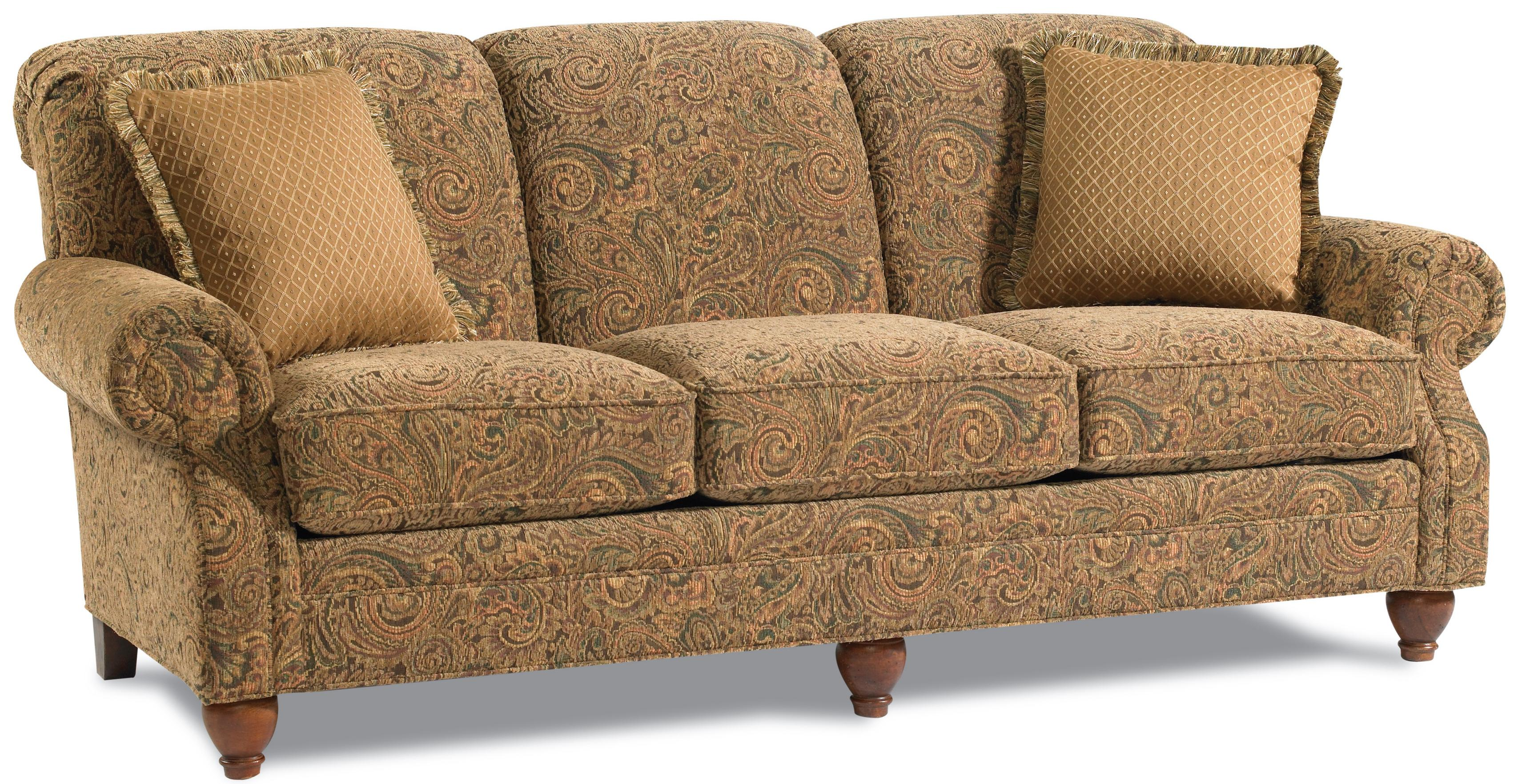 Clayton Marcus Clementine 3274 Traditional Queen Sleeper Sofa With Rolled  Arms   AHFA   Sofa Sleeper Dealer Locator