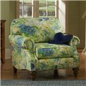 Clayton Marcus Madalyn Upholstered Chair with Rolled Arms - 3813-06