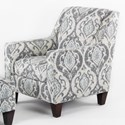 CMI Classic Chair Accents Club Chair - Item Number: CC2420-Gray Leaf