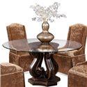CMI Dining  Tudor Glass Top Table - Item Number: 4381+161