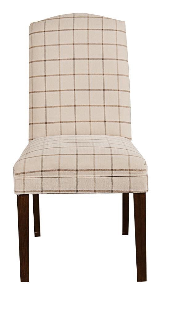 CMI Jules Jules Camel Back Parsons Chair - Item Number: 249367217
