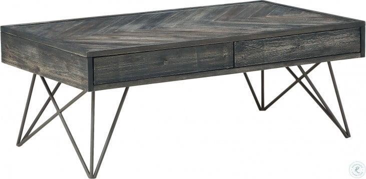 36620 Gray Cocktail Table by Coast to Coast Furnishings at Furniture Fair - North Carolina