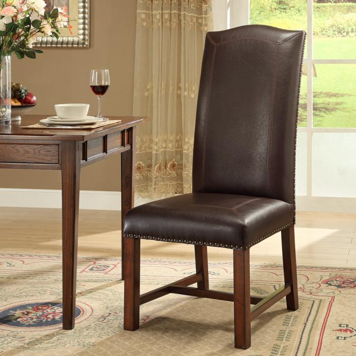 Morris Home Furnishings New Guinea New Haven Bonded Side Chair - Item Number: 46235