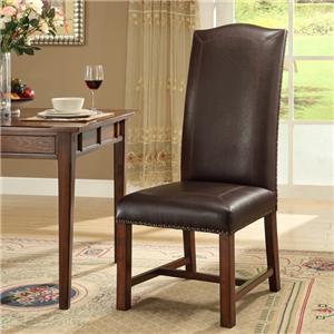 Coast to Coast Imports New Guinea New Haven Bonded Side Chair