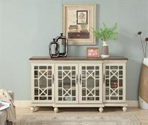 22580 Four Door Console by Coast to Coast Imports at Furniture Fair - North Carolina
