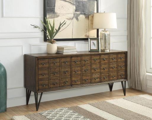 3653 3 Door Console by Coast to Coast Imports at Furniture Fair - North Carolina