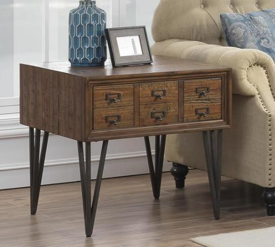 3653 1 Drawer End Tbale by Coast to Coast Imports at Furniture Fair - North Carolina