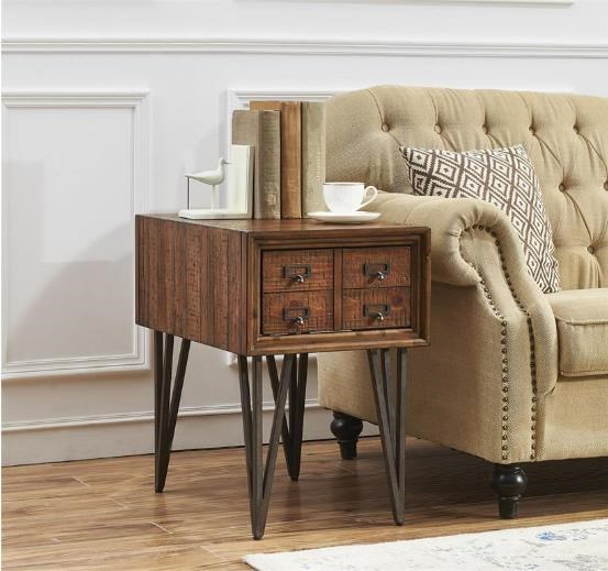 3653 1 Drawer Chairside Table by Coast to Coast Imports at Furniture Fair - North Carolina