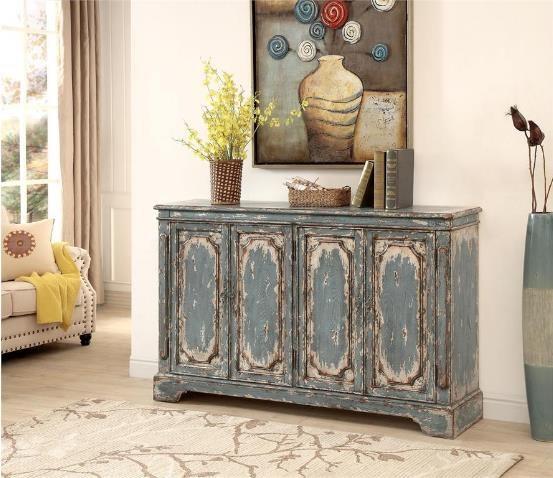 4020 4 Door Cabinet by Coast to Coast Imports at Furniture Fair - North Carolina