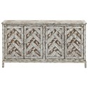Coast to Coast Imports 40200 4-Door Media Credenza - Item Number: 40205