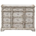 Coast to Coast Imports 40200 3-Drawer Credenza - Item Number: 40208