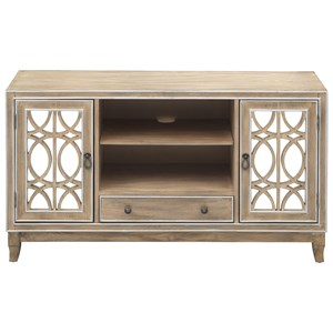 2-Door 1-Drawer Media Credenza