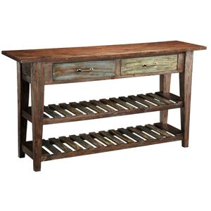 Coast to Coast Imports Accents by Andy Stein 2 Drawer Console Table