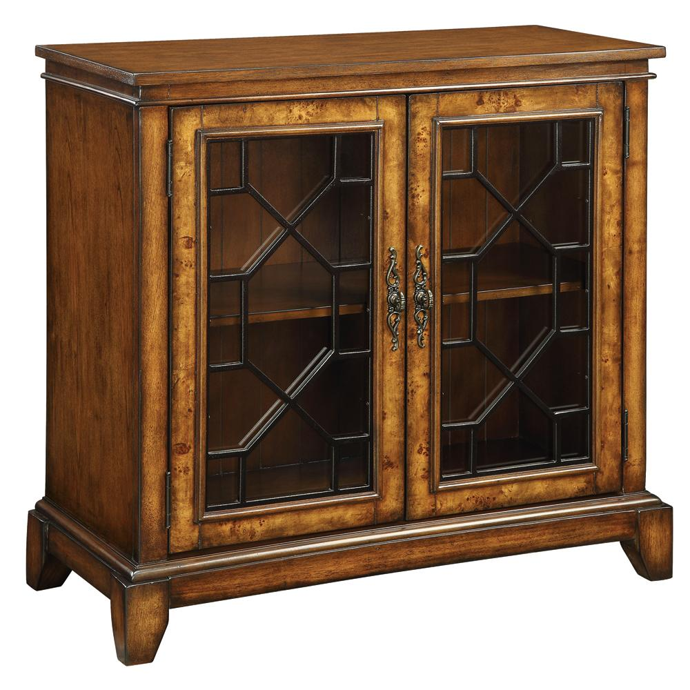 Coast to Coast Imports Accents by Andy Stein 2 Door Cabinet - Item Number: 46240