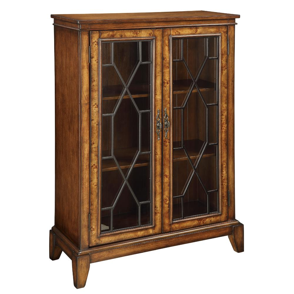 Coast to Coast Imports Accents by Andy Stein 2 Door Bookcase - Item Number: 46241