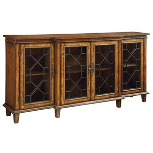 Accents by Andy Stein 4 Door Credenza by Coast to Coast Imports