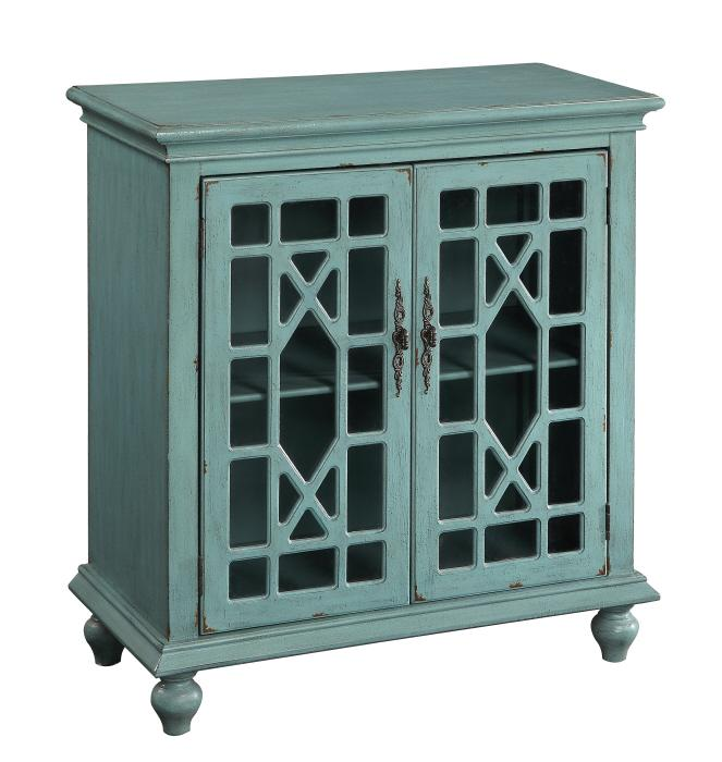Coast to Coast Imports Accents by Andy Stein 2 Door Cabinet - Item Number: 50694