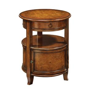 Coast to Coast Imports Accents by Andy Stein One Drawer One Door Table