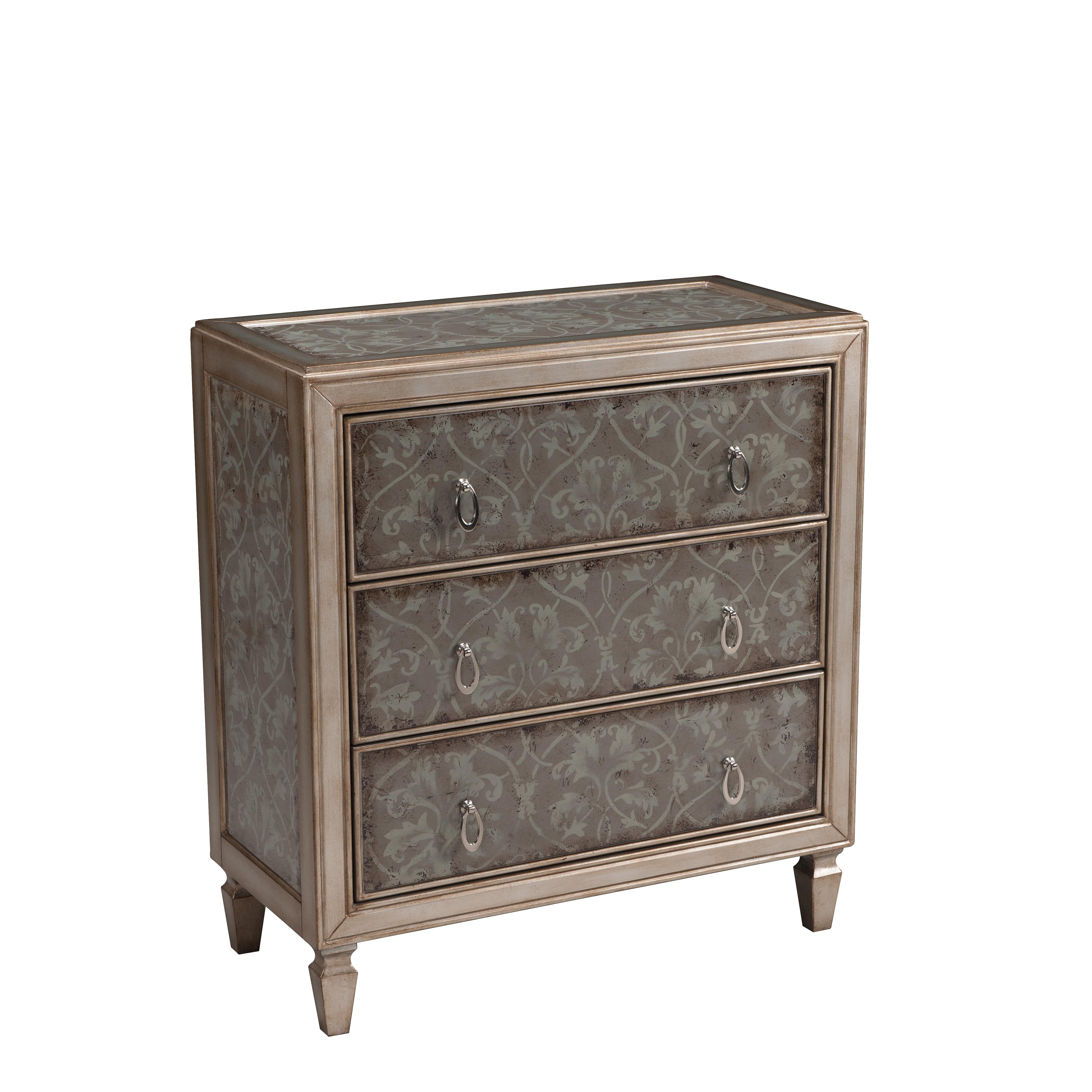 Coast to Coast Imports Accents by Andy Stein Three Drawer Chest - Item Number: 61653