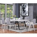 Coast to Coast Imports Aspen Court II 7-Piece Table and Chair Set - Item Number: 48195+2x196+4x197