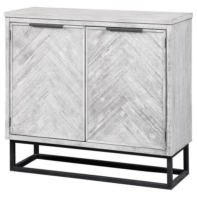 Aspen Court II Two Door Cabinet by Coast to Coast Imports at Johnny Janosik