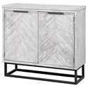 Coast to Coast Imports Aspen Court II Two Door Cabinet - Item Number: 48206