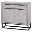Coast to Coast Imports Aspen Court II Two Door Two Drawer Cabinet - Item Number: 48208