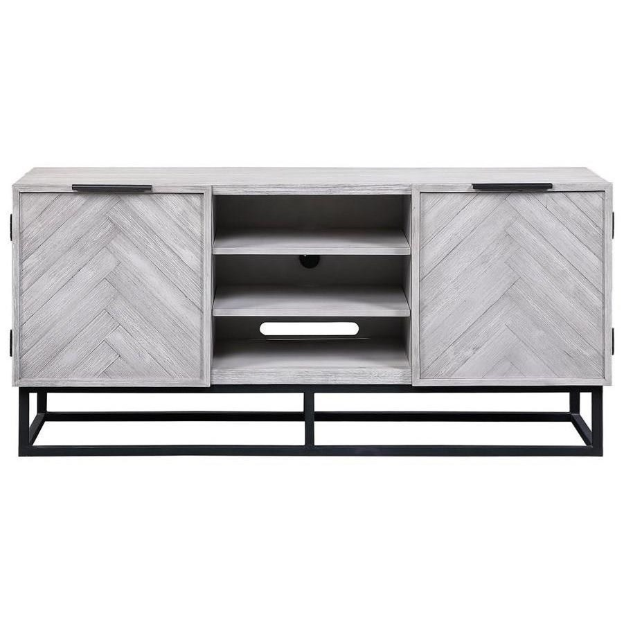 Aspen Court II Two Door Media Console by Coast to Coast Imports at Zak's Home