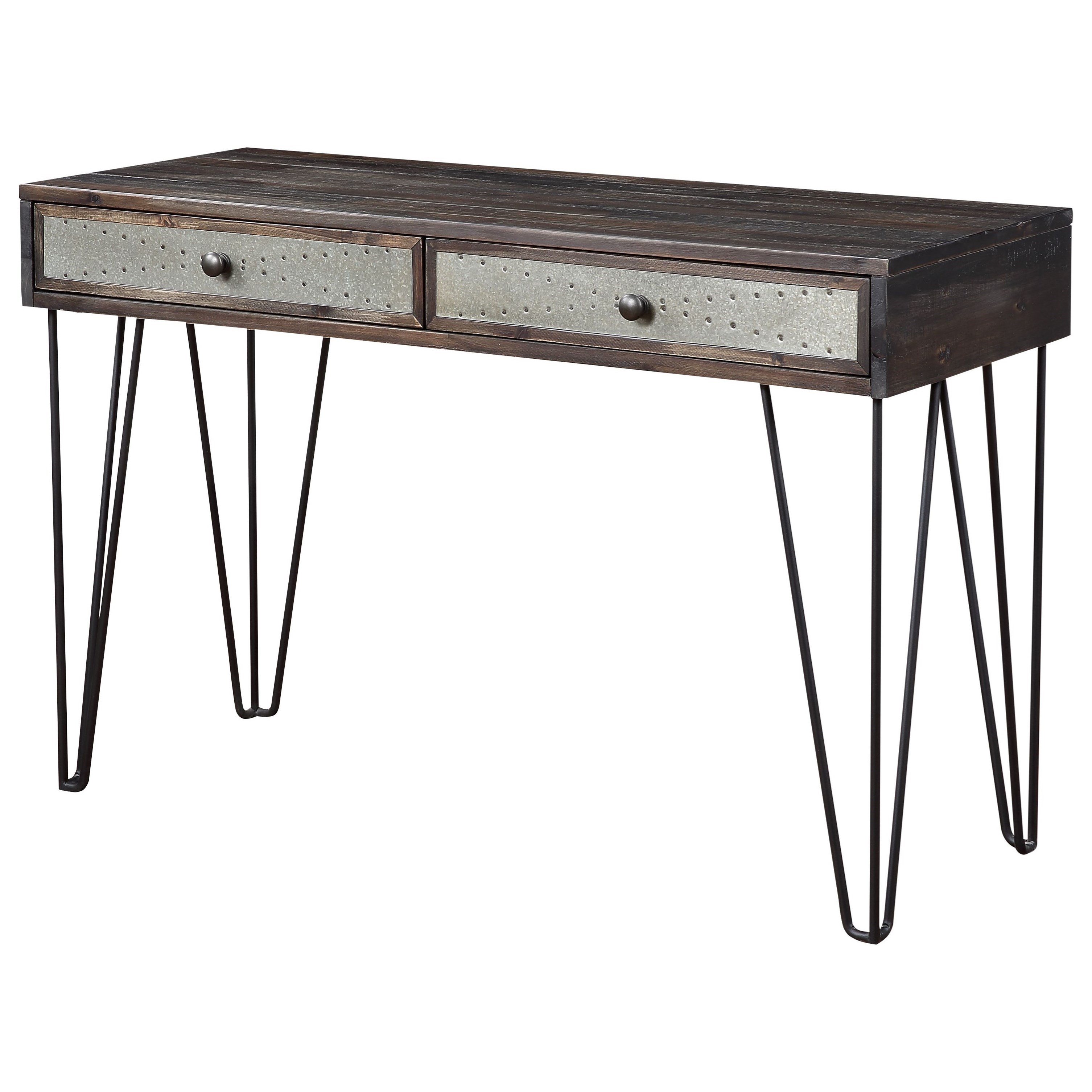 Aspen Court Vintage 2-Drawer Console by Coast to Coast Imports at Baer's Furniture