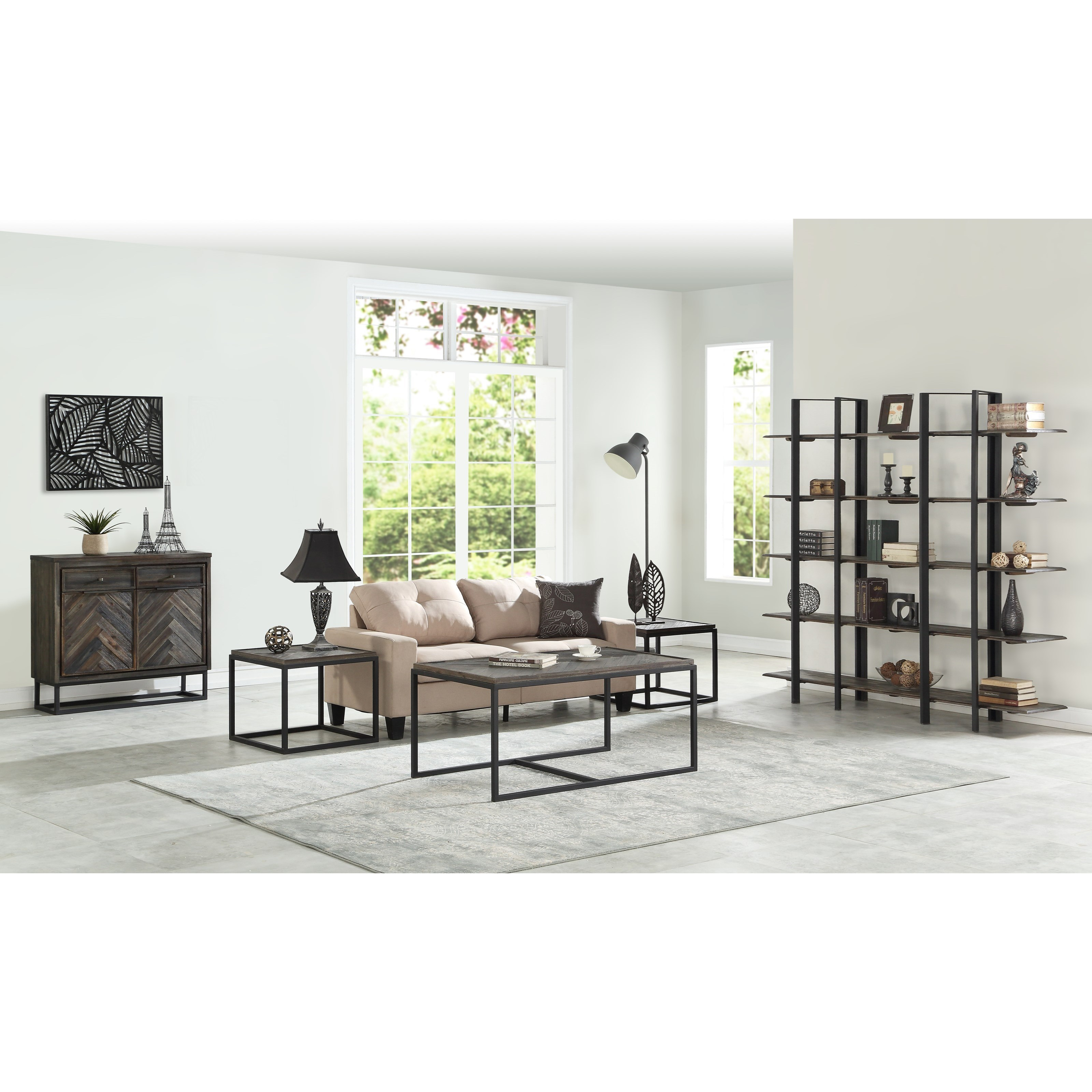 Ashley Furniture Beaumont Tx: Coast To Coast Imports Aspen Court Industrial Two Door Two