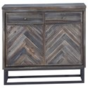 Coast to Coast Imports Aspen Court Two Door Two Drawer Cabinet - Item Number: 30544