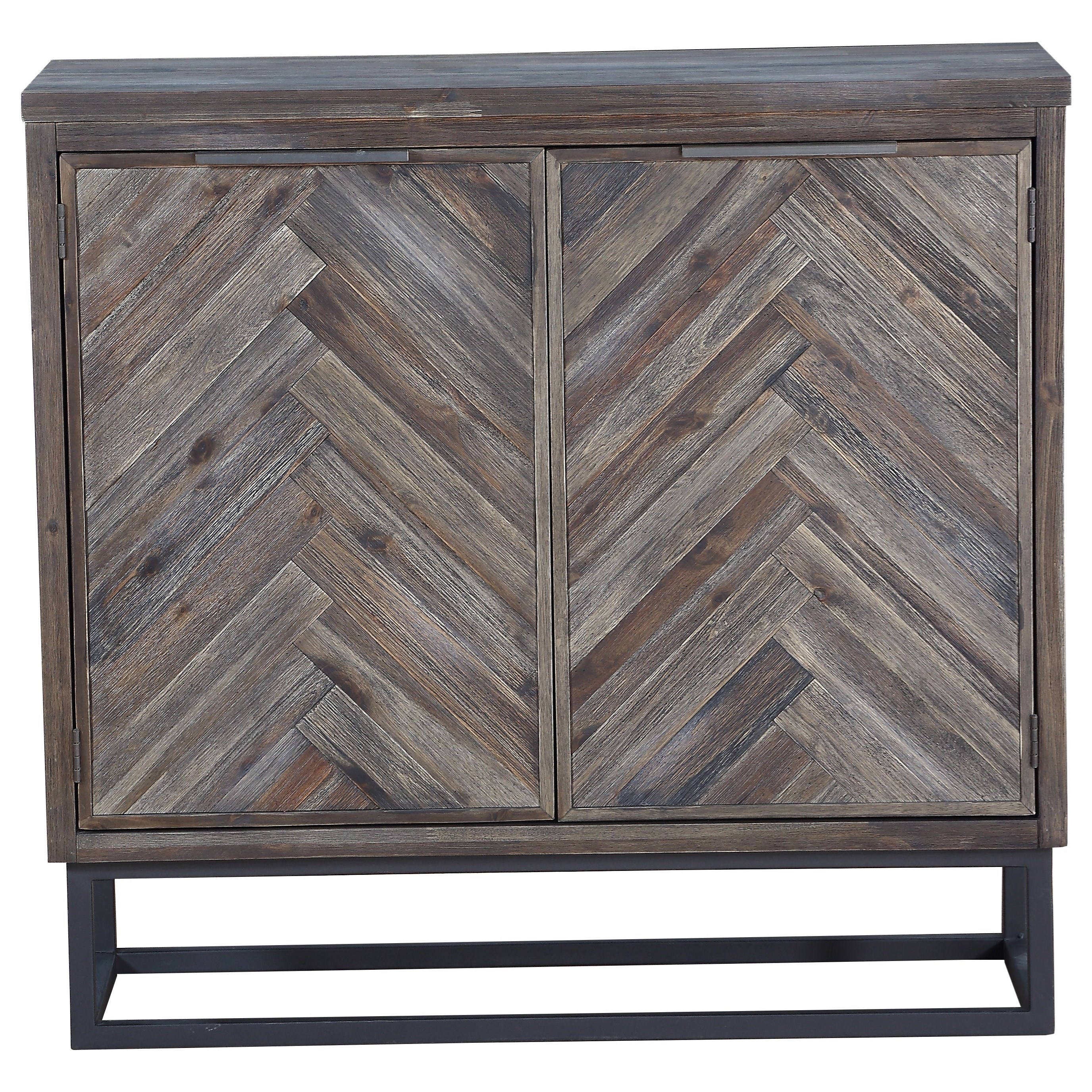 Aspen Court Two Door Cabinet by Coast to Coast Imports at Furniture Fair - North Carolina