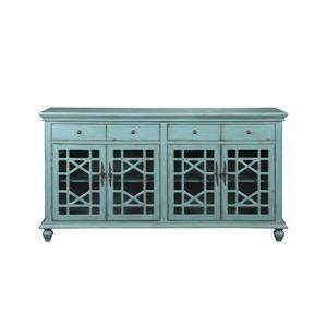 Coast to Coast Imports Accents 4-Door Credenza