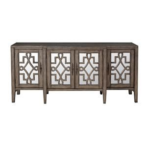 Coast to Coast Imports Accents 4 Door Credenza