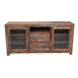 Coast to Coast Imports Accents 4-Drawer 2-Door Credenza