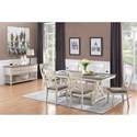 Coast to Coast Imports Bar Harbor II Formal Dining Room Group - Item Number: 48100 Dining Room Group 1